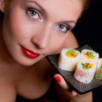 Суши- диета – новый тренд. ФОТО
