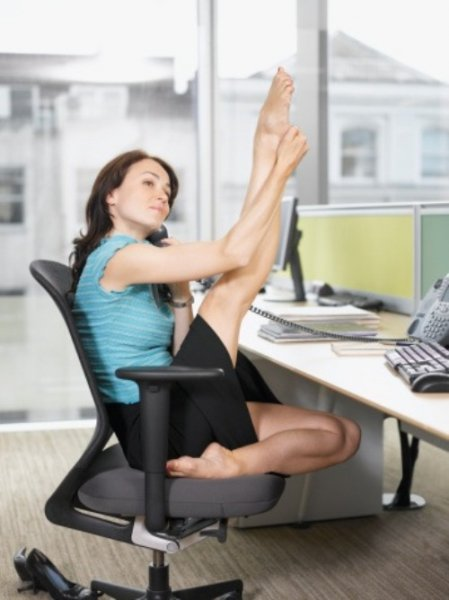Как похудеть при сидячей работе? ФОТО+ВИДЕО
