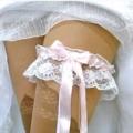 Подвязка для невесты  тайная изюминка свадебного наряда /