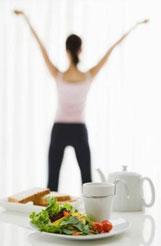 Рацион питания для похудения в комплексе с тренировками /