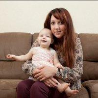 Слепая беременность: девушка узнала, что беременна только перед родами. ФОТО