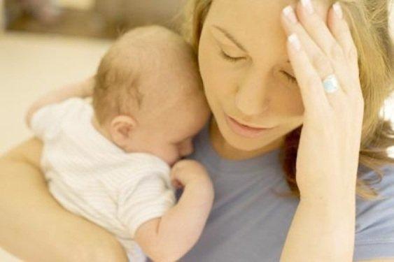 Анализ крови расскажет о склонности женщины к послеродовой депрессии. ФОТО