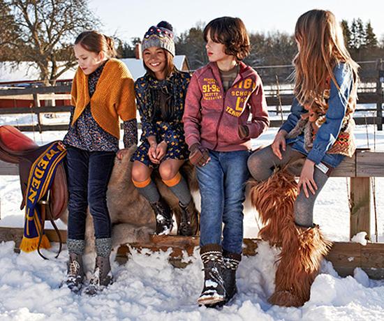 Осенне-зимняя коллекция детской одежды 2012/13 от Benetton /  Мама /