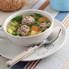 Супчик с фрикадельками  вкусный и полезный детский обед /  Мама /