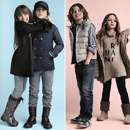 Осенне-зимняя коллекция детской одежды 2012/13 от Giorgio Armani /  Мама /