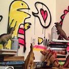 Диноябрь: Ожившие динозавры в фотопроекте от Рефе Тума /  Мама /