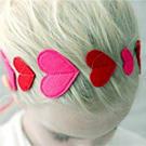 Красивый ободок на волосы для вашей малышки /  Мама /