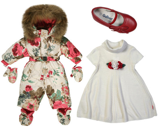 Осенне-зимняя коллекция детской одежды 2013 года от Gulliver /  Мама /