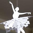 Самоделкин: Мастерим с ребенком бумажную балерину-снежинку /  Мама /