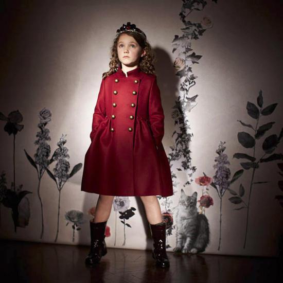 Осенне-зимняя коллекция 2013 года Lanvin Petite /  Мама /