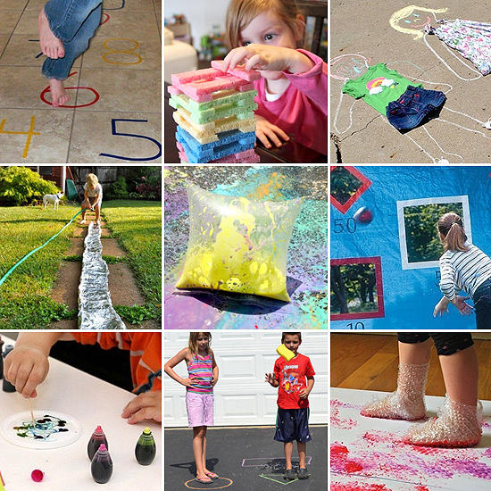 10 недорогих способов занять ребенка летом. Часть первая /  Мама /