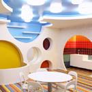 Дизайн детского центра в Лиссабоне призван развивать воображение /  Мама /
