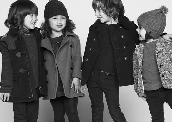 Осенне-зимняя детская коллекция от Burberry /  Мама /