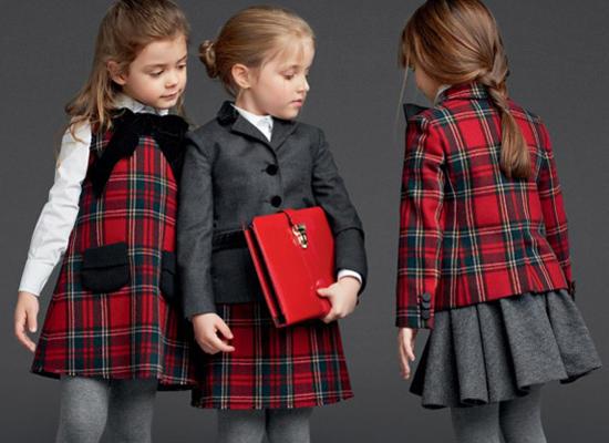 Осенне-зимняя коллекция школьной одежды от Dolce   Gabbana /  Мама /